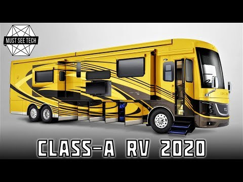 Top 8 Upcoming A-Class Motorhomes with some of the Best RV Features in 2020