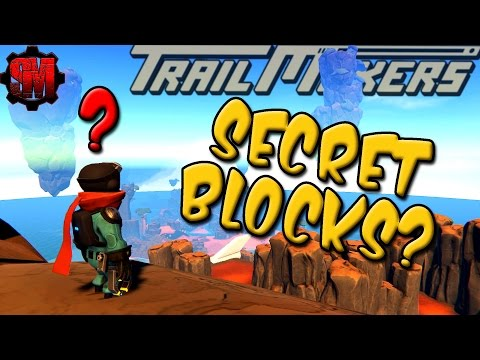 SECRET HIDDEN BLOCKS? - TrailMakers Gameplay Ep9