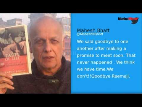 From Karan Johar to Nimrit Kaur, celebs mourn Reema Lagoo's death