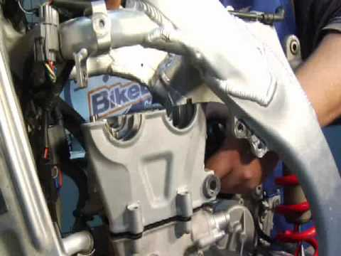 how to dirt bike 4 stroke top end rebuild at bikebandit com  dirt bike 4 stroke diagram #15