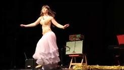 Kristiina Vainikka, oriental belly dance, Winter Expo, 2015
