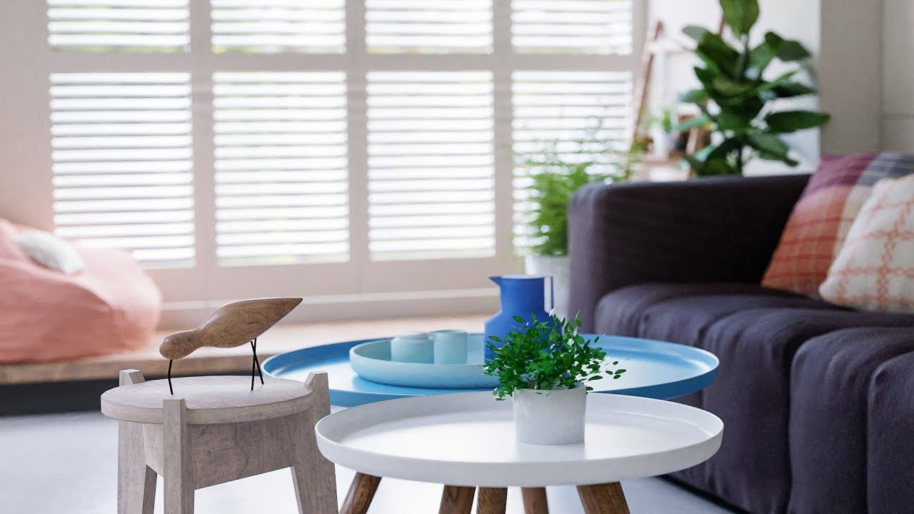 Create A Modern Interior Blender Tutorial 6 Of 7 Youtube
