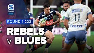 Super Rugby Trans Tasman | Rebels V Blues - Rd 1 Highlights