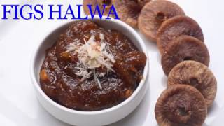 Anjeer Halwa Recipe