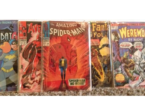 MY TOP 40 COMIC BOOKS OF MY COLLECTION TAG VIDEO