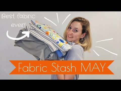 My Fabric Stash/Haul - MAY - Fabrics, Patterns and Plans