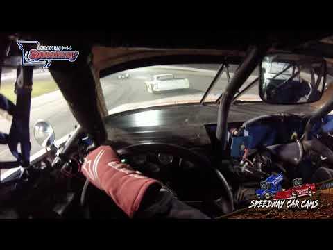 #1 Dylan Bates - Pro late Model - 7-3-19 Lebanon I-44 Speedway - In-Car Camera