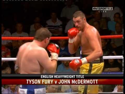 TYSON FURY v JOHN McDERMOTT - THE REMATCH - 25 JUNE 2010