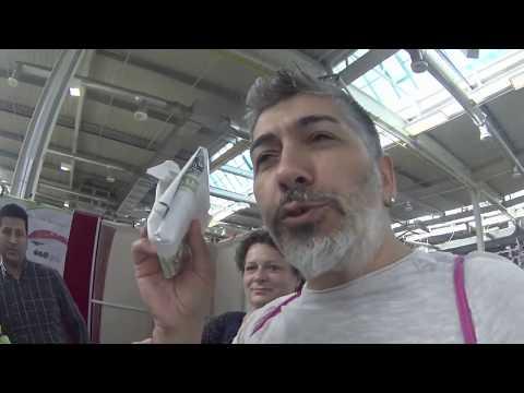 Bir kilo zeytin 30 euro yuuuhh??ALMANYA`da tüketici fuari (messe augsburg) AFA