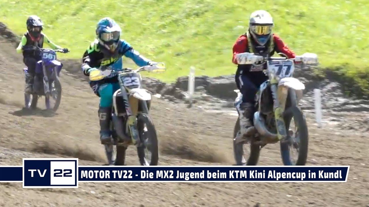 MOTOR TV22: Die MX2 Jugend beim KTM Kini Alpencup in Kundl 2021