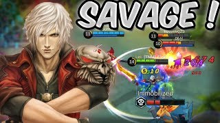 ALUCARD INSANE SAVAGE GAMEPLAY! MOBILE LEGENDS