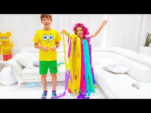 Макс сделал платья для Кати