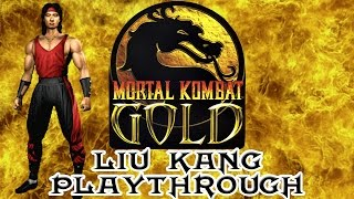 Mortal Kombat Gold Liu Kang Playthrough (Difficulty : Ultimate) HD 60fps