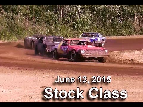 Capitol Speedway 6/13/15- Stock Class Heat 2