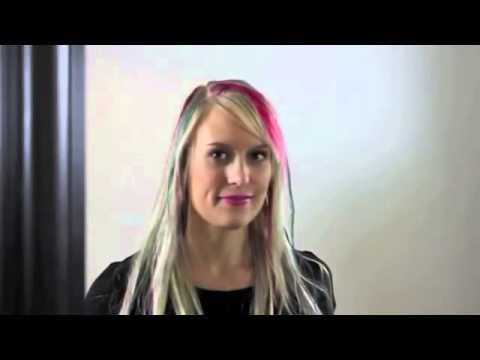 Мелки для волос / Как красить волосы мелками для волос - YouTube