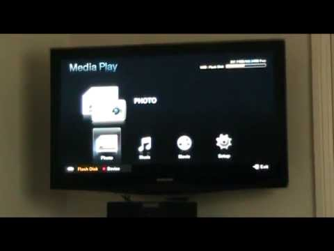 Samsung,NEW,HOW TO PLAY VIDEOS ON SAMSUNG TV FROM PORTABLE HARD DRIVE - YouTube