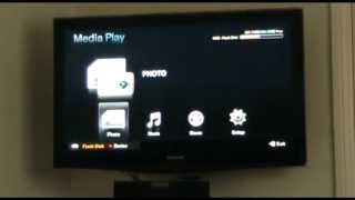 Samsung,NEW,HOW TO PLAY VIDEOS ON SAMSUNG TV FROM PORTABLE HARD DRIVE