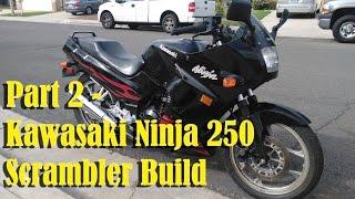 2007 Kawasaki Ninja 250 Cafe Scrambler Racer 250r Part 2