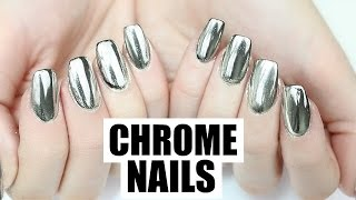 One of Hannah Weir's most viewed videos: Chrome MIRROR Powder Nails