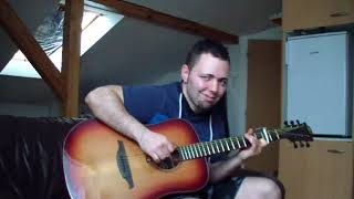 REESHA.the.ASPIE - Someone like me (by Atomic Kitten) instrumental acoustic guitar cover