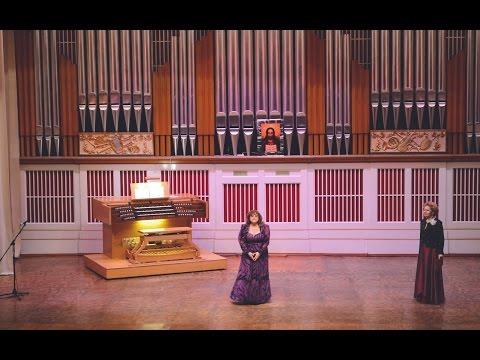 Органный концерт в Донецкой филармонии. Наталья Чеснокова. 21.02.2016