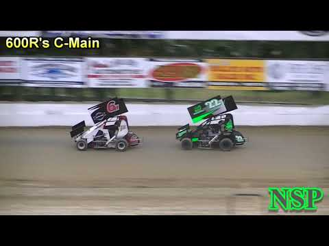 July 19, 2018 600 Restricted Mini Sprints C-Main Deming Speedway