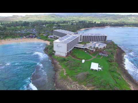 Aerial Tour of Turtle Bay Resort