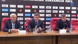 «Динамо» — «Локомотив». Послематчевая пресс-конференция