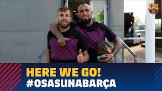 Trip to Pamplona ahead of LaLiga visit to Osasuna