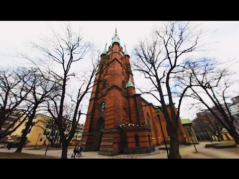 360 VR Tour | Stockholm | Church of Saint Clare | Klara Church | Outside | No comments tour