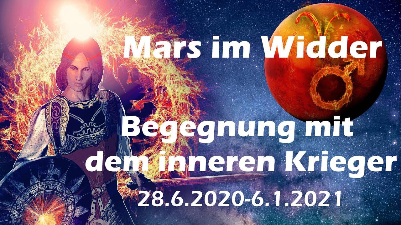 Mars im Widder 2020: Begegnung mit dem inneren Krieger