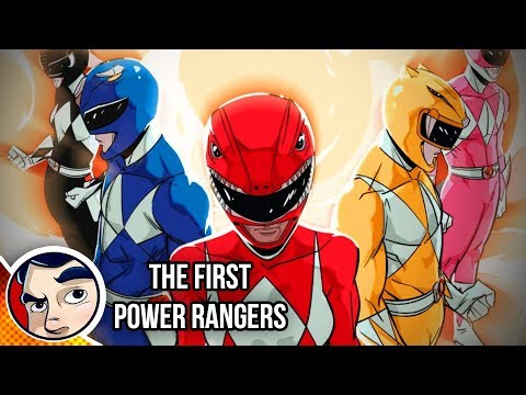 The First Power Rangers (Shattered Grid Prep) - Complete Story | Comicstorian