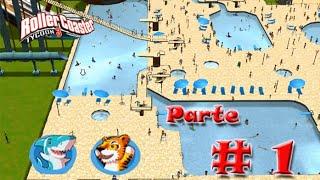 RollerCoaster Tycoon 3 Platinum #1 - Qual será o nome do nosso parque?
