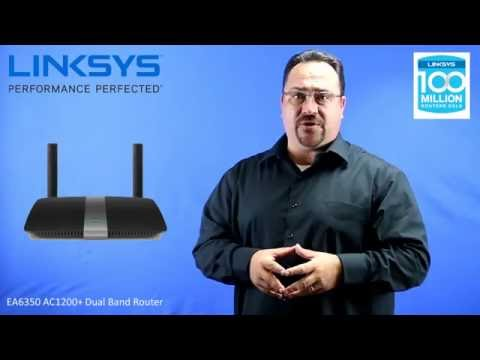 Linksys EA6350 AC1200+Router - YouTube