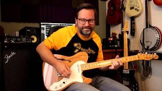 Fender American Original 60s Thinline & 70s Custom Telecaster with GTX100 Amp