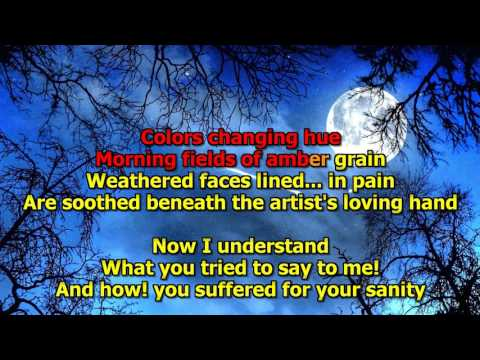 Vincent - Don Mclean (Karaoke) HD