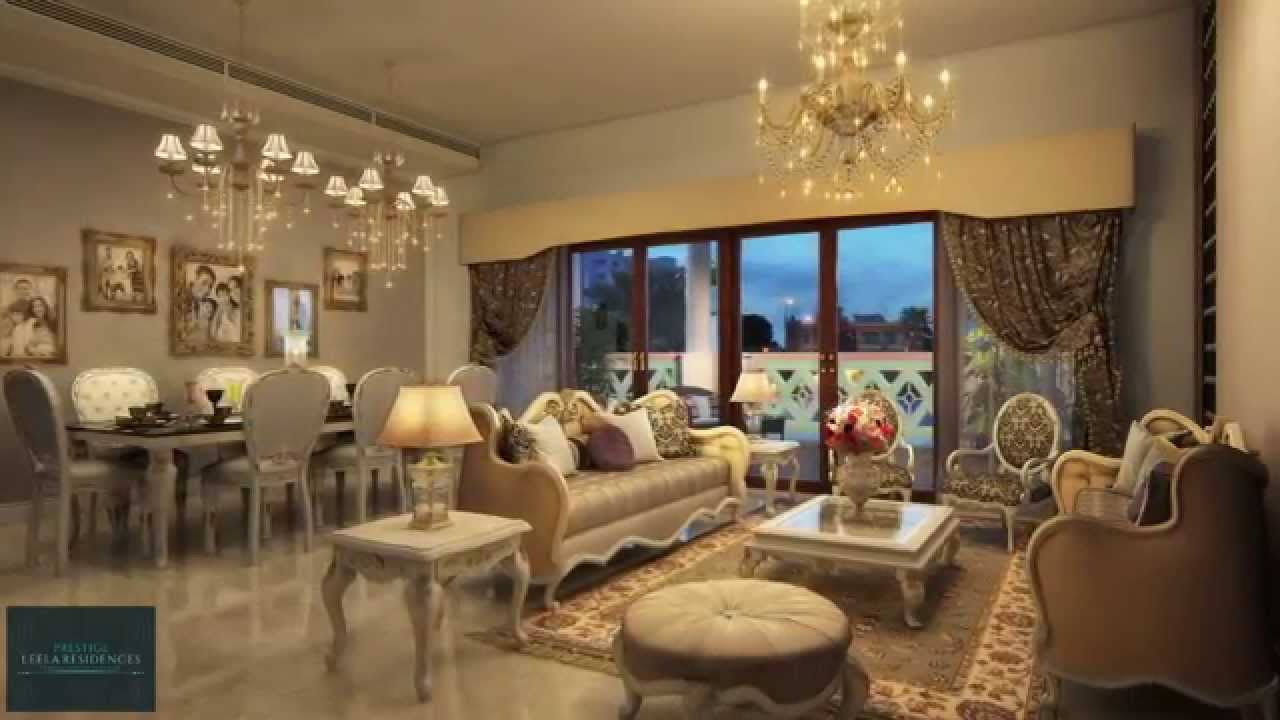 Prestige Leela Residences Luxury Homes In Bangalore Youtube