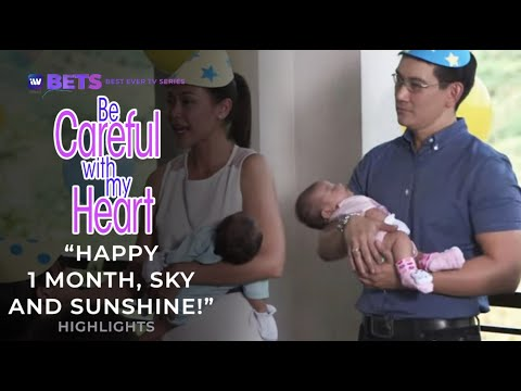 Happy 1 Month Sky and Sunshine! | Be Careful With My Heart Highlights | iWant BETS