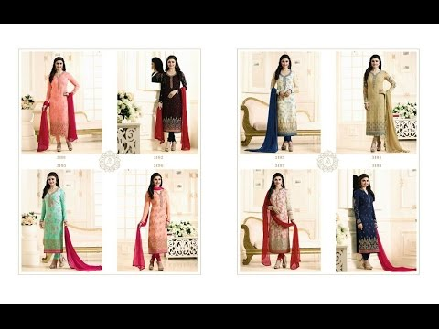 Latest Indian Dresses Collections 2017    Vinay Fashion    Catalog:-Silver Pearl