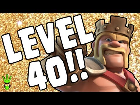 LEVEL 40 KING! - TH10 Miner Dark Elixir Farming - Clash of Clans - TH10 Hero Farming