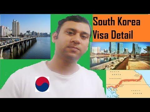 South Korea Visa || Type Of Visa And Process For South Korea Country