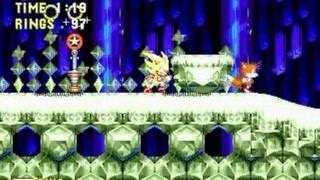Sonic 3 & Knuckles Megamix (Genesis) - Longplay