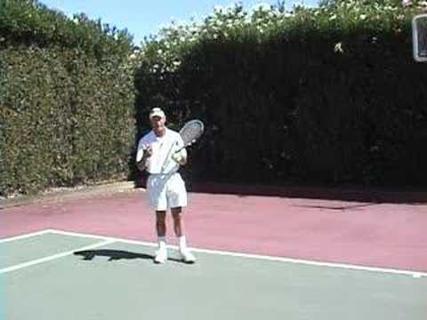 Tennis Return of Serve - High Bouncing Kicker