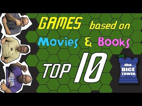 Top 10 Games Based On Movies And Books Youtube