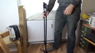 Millenium MS-2005 Microphone Stand Unboxing