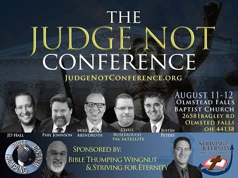 The Judge Not Conference - Live
