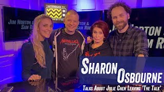 Sharon Osbourne Talks About Julie Chen Leaving