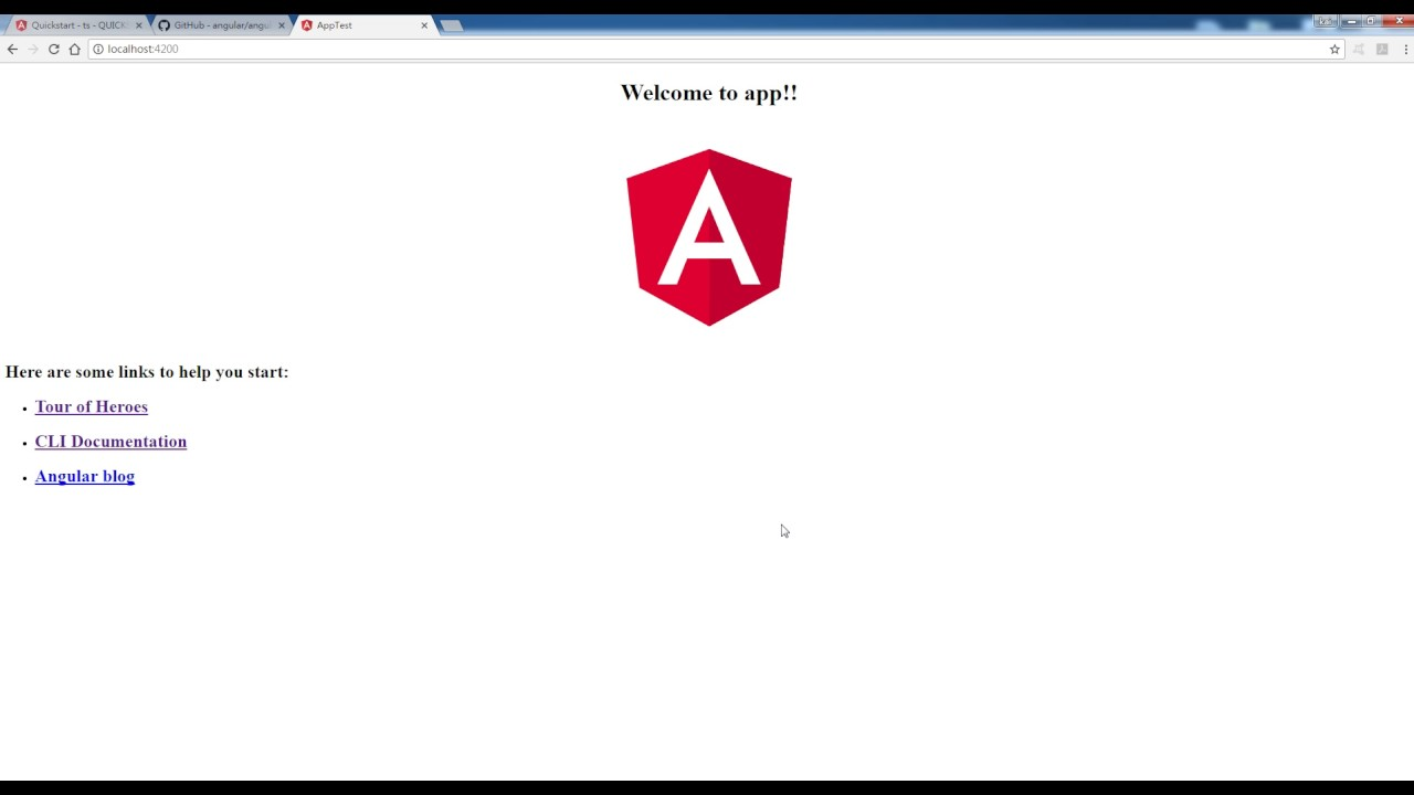 Angular2 入門 angular2入門教學(1) - 開發環境介紹(新)