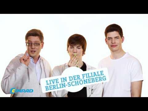 Technikhelden Virtual Realtiy-Event in der Filiale Berlin Schöneberg | Conrad