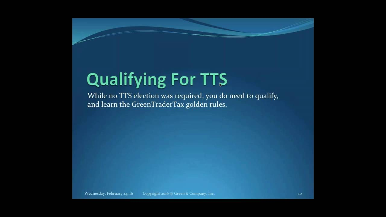 Learn How Active Traders In Securities File 2015 Tax Returns For ...